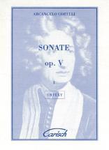 Corelli Arcangelo - Sonate Op.5 Vol. 1 - Violon, Piano