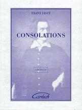 Liszt Franz - Consolations - Piano