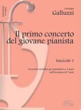 Galluzzi G. - Primo Concerto Giovane Pianista Vol. 1 - Piano 4 Mains