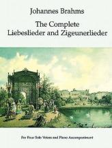 Brahms J. - The Complete Liebeslieder And Zigeunerlieder - Chant, Piano