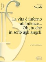Verdi G. - Vita è Inferno All?infelice... Oh, Tu Che In Seno Agli Angeli - Piano, Voix Tenor