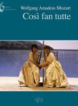 Mozart W.a. - Cosi Fan Tutte - Chant, Piano