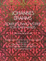 Brahms J. - Intégrale Des ?uvres Pour Piano A 4 Mains