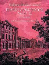 Mozart W.a. - Piano Concertos N°17-22 - Full Score