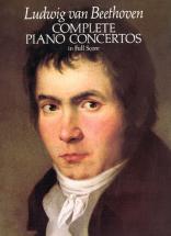 Beethoven L.van - Complete Piano Concerto - Full Score