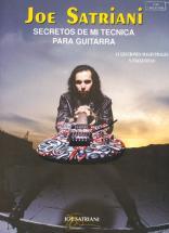 Satriani Joe - Secretos Tecnica Guitarra - Guitare