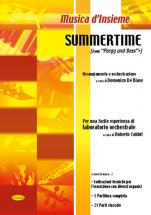 GERSHWIN GEORGE - SUMMERTIME - ENSEMBLE MUSICAL