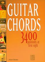 Chester Alan - Guitar Chords 3400 Positions - Guitare