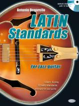 Ongarello Antonio - Latin Standard Jazz Guitar + Cd - Guitare