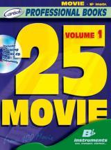 25 Movie + Cd - Instruments En Sib