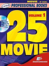 25 Movie + Cd - Instruments En Mib