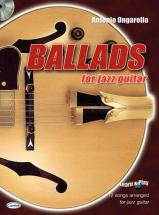 Ongarello A. - Ballads For Jazz Guitar + Cd - Guitare