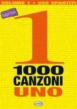 1000 Canzoni Volume 1 - Paroles Et Accords