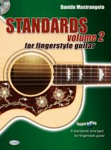 Mastrangelo Davide - Standards Volume 2 For Fingerstyle Guitar + Cd