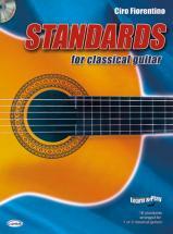 Fiorentino Ciro - Standard For Classical Guitar + Cd