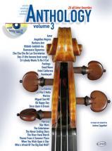 Cappellari A. - Anthology Vol.3 + Cd - Violon