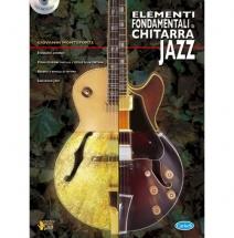 Partition Jazzandblues - Monteforte G. - Elementi Fondamentali + Cd - Guitare Jazz