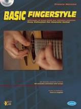 Methode - Morone Franco - Basic Fingerstyle + Cd - Guitare