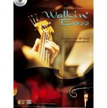 Methode - Zanchi Attilio - Walking Bass + Cd - Basse