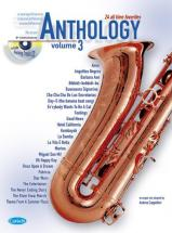 Cappellari A. - Anthology Vol. 3 + Cd - Saxophone Tenor