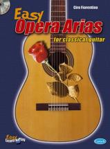 Fiorentino Ciro - Easy Opera Arias  + Cd - Guitare