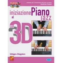 Methode - Cutuli Andrea - Iniziazione Jazz 3d + Cd + Dvd - Piano