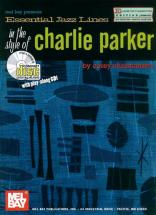 Essential Jazz Lines In The Style Of Charlie Parker By Corey Christiansen + Cd