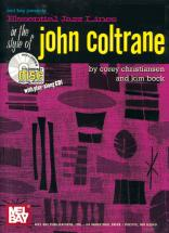 Essential Jazz Lines In The Style Of John Coltrane By Corey Christiansen & Kim Bock.