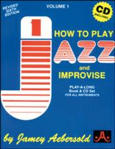 How To Play Jazz + Cd - Tous Instruments