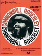 Aebersold N°013 - Cannonball Adderley + Cd