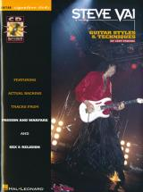 Vai Steve - Signature Licks + Cd  - Guitare