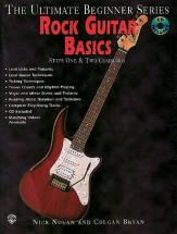 Rock Guitar Basics Steps 1 And 2 + Cd - Guitare