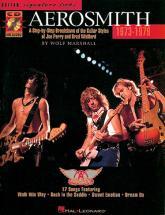 Aerosmith - Signature Licks + Cd 73-79 - Guitare Tab