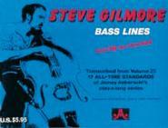 Gilmore Steve -  N° 25 Transcribed Bass Lines - Guitare Basse