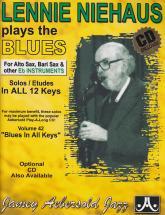 Niehaus Lennie - Plays The Blues - Instruments En Mib + Cd
