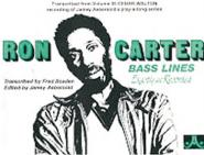 Carter Ron - Bass Lines From Vol. 35 - Basse