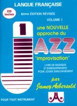 N°001 - Nouvelle Approche Du Jazz  Improvisation + Cd