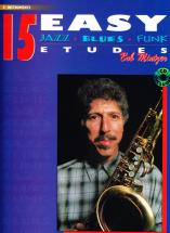 Mintzer Bob - 15 Easy Etudes (jazz/blues/funk) + Cd - Instruments Mib