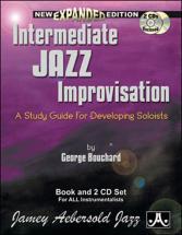 Bouchard Joe - Intermediate Jazz Impro + 2 Cd - Formation Musicale