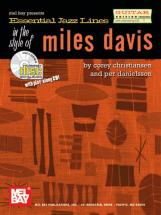Essential Jazz Lines In The Style Of Miles Davis - By Corey Christiansen And Per Danielsson