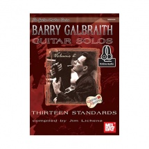 BARRY GALBRAITH GUITAR SOLOS VOLUME 2 + ONLINE AUDIO