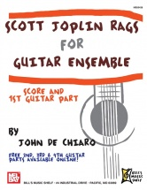 Scott Joplin - Rags For Guitar Ensemble - Guitar