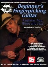 Sokolow Fred - Beginner's Fingerpicking Guitar - Ragtime, Pop, Blues And Jazz - Guitar