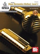 Barrett David Blues Harmonica Method Level 2 Harmonica + Cd - Harmonica