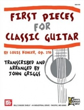 Griggs John - First Pieces For Classical Guitar - Guitar