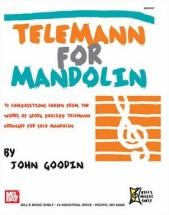 Telemann George Philipp - Telemann For Mandolin - Mandolin