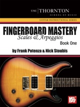 Potenza/stoubis Fingerboard Mastery Book 1 Scales And Arpeggios - Guitar
