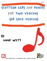 Witt Anne - Scottish Airs And Dances For Two Violins
