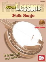 Levenson Dan - First Lessons Folk Banjo - Banjo