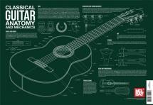 Classical Guitar Anatomy And Mechanics Guitar Chart - Classical Guitar